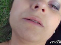 Real amateur Czech girl Ashley Woods pounded for money