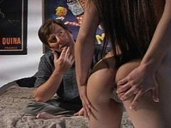 Busty Luci Thai Stretched By Two Dicks