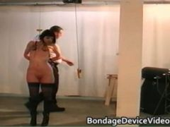 B Cup brown haired bdsm 16 by bondagedevicevideos