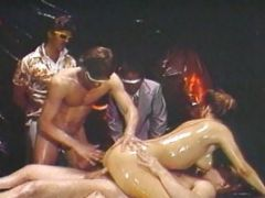 Oiled Uup Erica Gets Dual Penetrated
