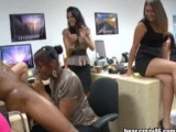 Black Stripper Cock Is Sucked By Women