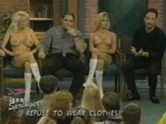 Jerry Springer's - I refuse to wear clothes (uncensored)