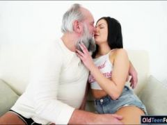 Euro Annie Wolf has a thing for old guys