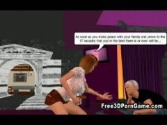 3D cartoon babes humiliating a pathetic loser