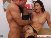 Teacher in pantyhose India Summer fucking