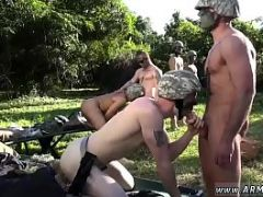 Sucking penis army photos gay xxx Taking the recruits on their first