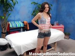 American girl hot pussy and boobs massage