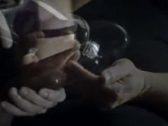 Cock pump and slow motion cumshot