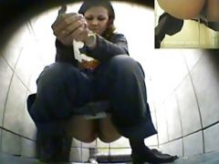 Hidden Camera In The Womens Toilet