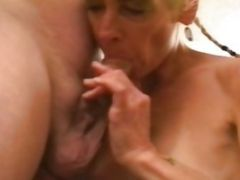 Blonde Slut Probed By Cock And Toy