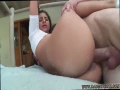 Teen pussy fuck orgasm and double header blowjob Nina