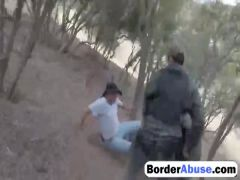 Naughty girl pounded by police officer