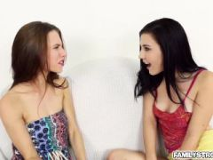 Cutie Anya and Jenna loves a cock to fuck