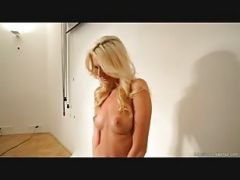 Making An Erotic Supermodel Out Of A Sexy Tall Blond Girl