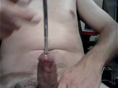 Biggest sound my cock can take