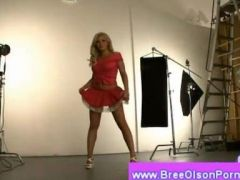 Bree Olson naked in a photo session