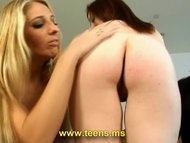 Horny babes