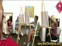 Cfnm real girls art class nude drawing