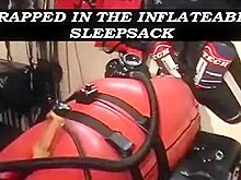 Trapped in the Inflatable Bondage Bag #1