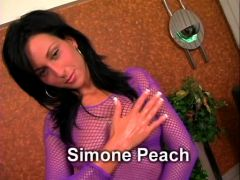 Simene Peach, Beautiful Woman Brunette