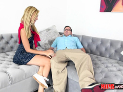 Alexa Grace caught giving head to her boyfriend by her step mom