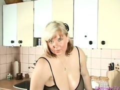 oiled monsterbreast houswife