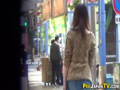 Panties asian piss alley