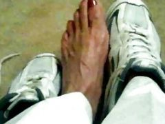 Foot Fetish Heaven As A Hot Pair Of Feet Models Lots Of Shoes