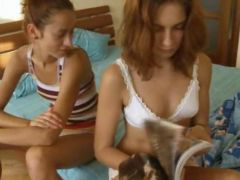 Russian teenies vika and natasha film