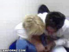Croation nurse gets fucked at work