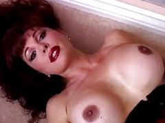 Massive tits red head mature pussy player solo