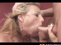 Notorious busty milf stuffed with cock