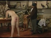 Caned standing up