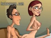 Cartoon mothers, housewifes and their cuckolds make porn - HotAvPorn.com