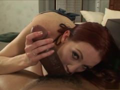 Amazing pornstar Cadence Caliber in crazy facial, redhead xxx movie