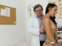 Ell Gets Examined Naked By Old Medic