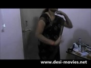 Indian Aunty stripping naked