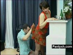 Gorgeous Pantyhose Fetish Milf Hard Screwed