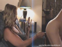cfnm milf plays with flasher