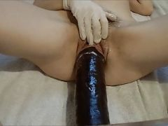 big dildo in cunt