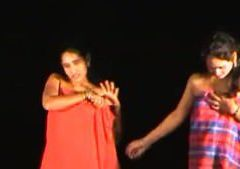 Indian naked Stage Dance