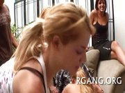 Cute girls get pounded