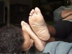 College girl worship older fat feet