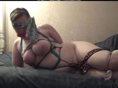 Selfbondage Mistake part 2 Of 3  bdsm bondage slave femdom domination