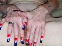 Longnails on girlfriend 3 of 4