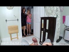 Busted Babysitters - Hope Harper and Mia Ryder Threesome