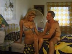 Vintage video of old man fucking young girl