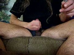 Small ejaculation.