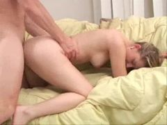 69 with a hairy pussy beauty