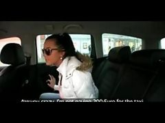 Hot 19 Year Old In Taxi Cab Scam